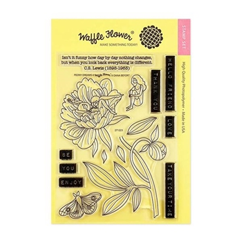 Waffle Flower PEONY DREAMS Clear Stamps 271223