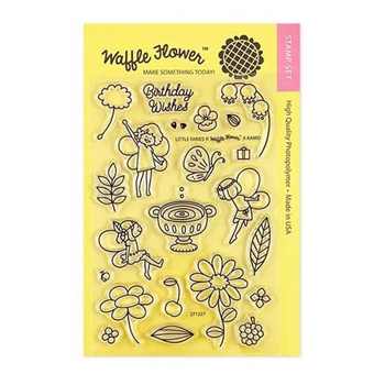 Waffle Flower LITTLE FAIRIES Clear Stamps 271227