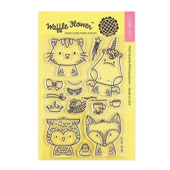 Waffle Flower BE HER Clear Stamps 271225