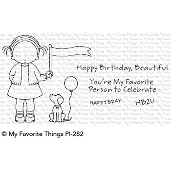 Pure Innocence BIRTHDAY BUDDIES Clear Stamps PI282