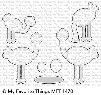 My Favorite Things OH MY GOSHTRICH Die-Namics MFT1470