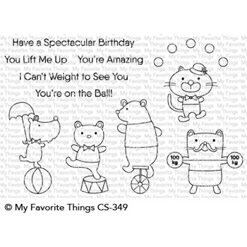 My Favorite Things SPECTACULAR BIRTHDAY Clear Stamps CS349