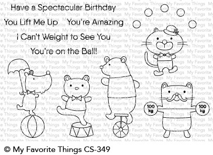My Favorite Things SPECTACULAR BIRTHDAY Clear Stamps CS349 zoom image