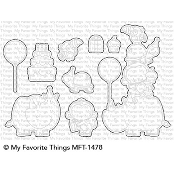 My Favorite Things BIRTH-YAY Die-Namics MFT1478