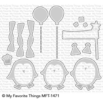 My Favorite Things PARTY PENGUINS Die-Namics MFT1471
