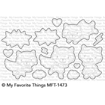 My Favorite Things SUPER CAT Die-Namics MFT1473