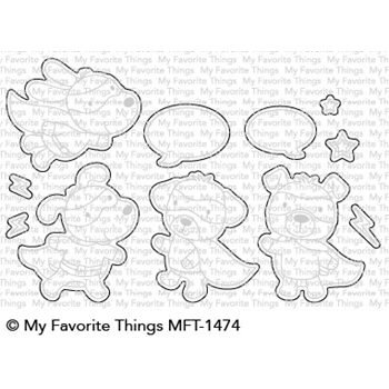 My Favorite Things SUPER DOG Die-Namics MFT1474