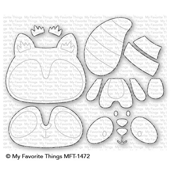 My Favorite Things RACCOON CUTIE Die-Namics MFT1472