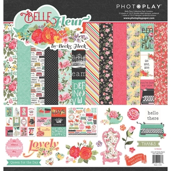 PhotoPlay BELLE FLEUR 12 x 12 Collection Pack blf9267
