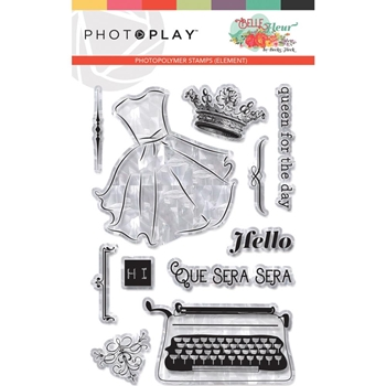 PhotoPlay BELLE FLEUR Clear Stamps blf9269