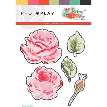 PhotoPlay BELLE FLEUR LAYERED FLOWER Die Set blf9272