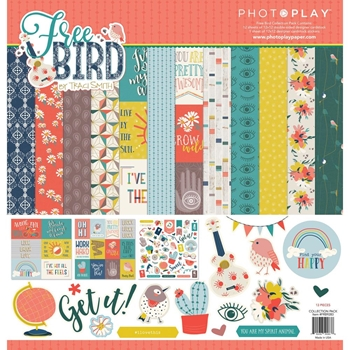 PhotoPlay FREE BIRD 12 x 12 Collection Pack frb9283