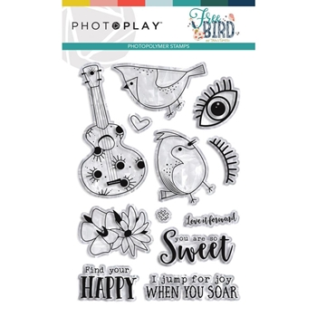 PhotoPlay FREE BIRD Clear Stamps frb9285