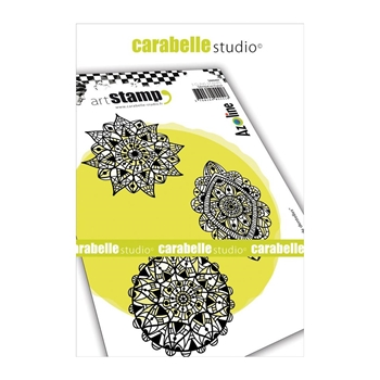 Carabelle Studio TRIO OF LACE Cling Stamps sa60407