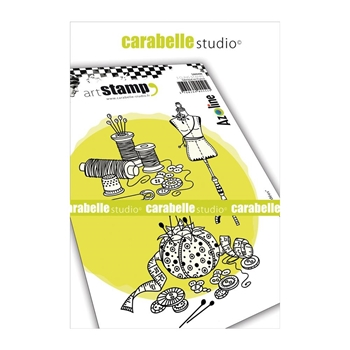 Carabelle Studio THREAD AND IDEAS Cling Stamps sa60406