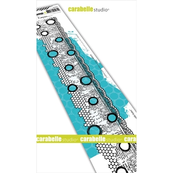 Carabelle Studio BORDER WITH HOLES Edge Cling Stamp sed0028