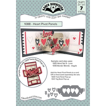 Karen Burniston HEART PIVOT PANELS Dies 1088
