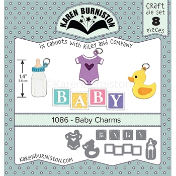 Karen Burniston BABY CHARMS Dies 1086