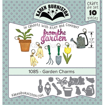 Karen Burniston GARDEN CHARMS Dies 1085