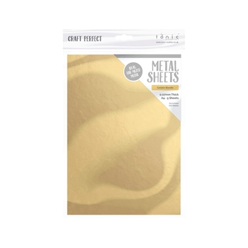 Tonic GOLDEN BLONDE A4 Craft Perfect Metal Sheets 9582e