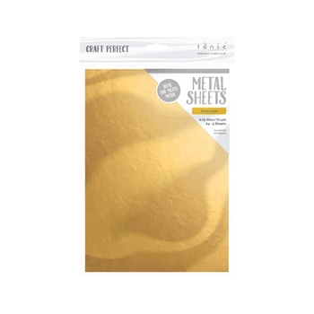 Tonic EMPIRE GOLD A4 Craft Perfect Metal Sheets 9581e