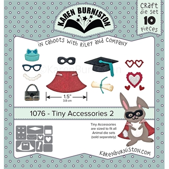 Karen Burniston TINY ACCESSORIES 2 Dies 1076