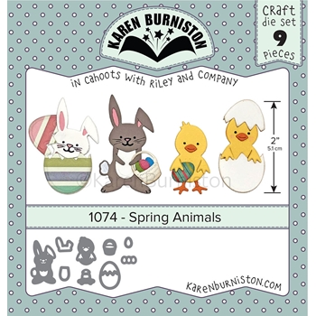 Karen Burniston SPRING ANIMALS Dies 1074