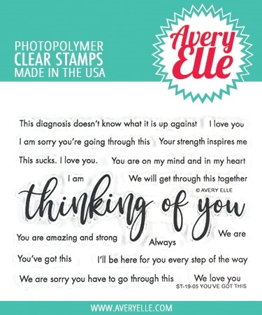 Avery Elle Clear Stamps YOU'VE GOT THIS ST-19-05 Preview Image