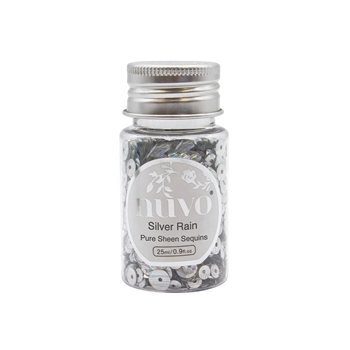 Tonic SILVER RAIN Nuvo Pure Sheen Sequins 1144n