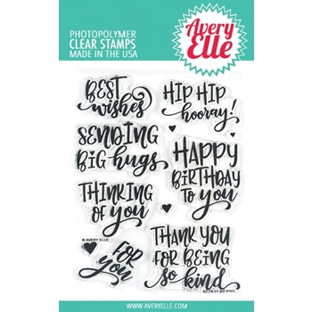 Avery Elle Clear Stamps SO KIND ST-19-01