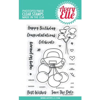 Avery Elle Clear Stamps JOURNEY ST-19-04