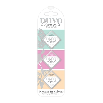 Tonic DREAM IN COLOUR Nuvo Diamond Hybrid Ink Pads 84n