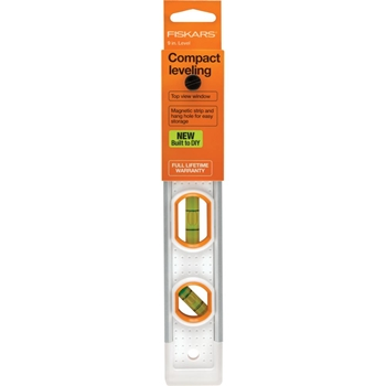 Fiskars PRECISION COMPACT LEVELER 9 INCH Built to DIY 06198