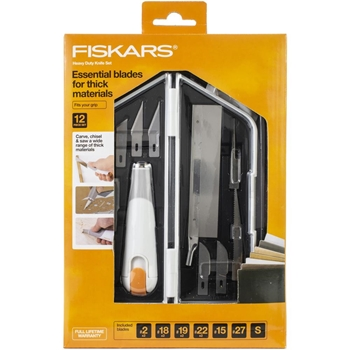 Fiskars HEAVY DUTY DETAIL KNIFE SET Built to DIY 05699