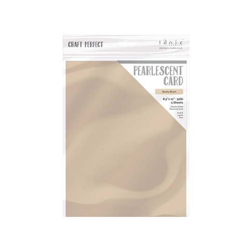 Tonic BARELY BLUSH Pearlescent Cardstock 9543e Preview Image