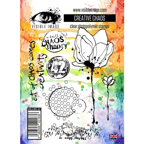 Visible Image CREATIVE CHAOS Clear Stamps VIS-CRC-01 Preview Image