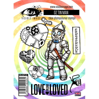 Visible Image OZ TIN MAN Clear Stamps VIS-OZT-01
