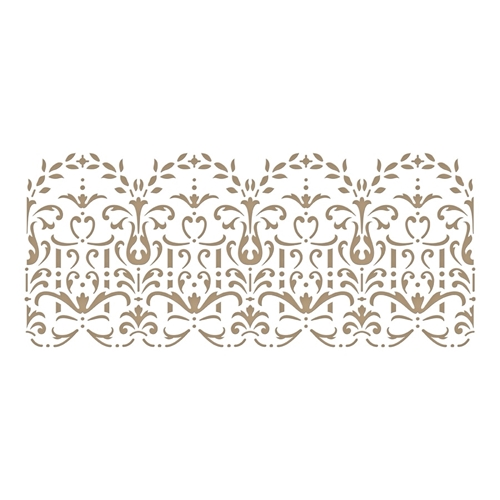 GLP-128 Spellbinders LACE FRIPPERY Glimmer Hot Foil Plate  Preview Image