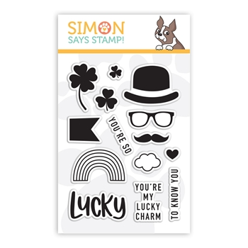 Simon Says Clear Stamps LUCKY sss101977