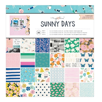 Crate Paper SUNNY DAYS 12 x 12 Paper Pad 350806