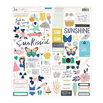 Crate Paper SUNNY DAYS 6 x 12 Stickers 350803