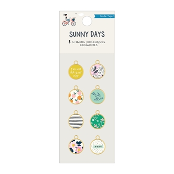 Crate Paper SUNNY DAYS Charms 350810