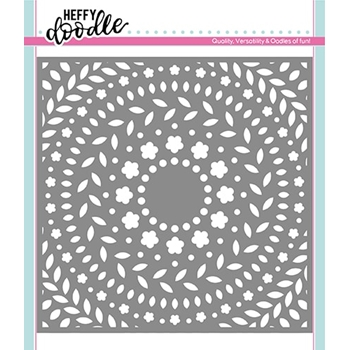 Heffy Doodle RING A ROSIES Stencil hfd0119