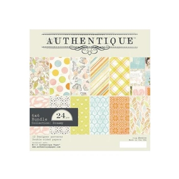 Authentique 6 x 6 DREAMY Paper Pad dre008