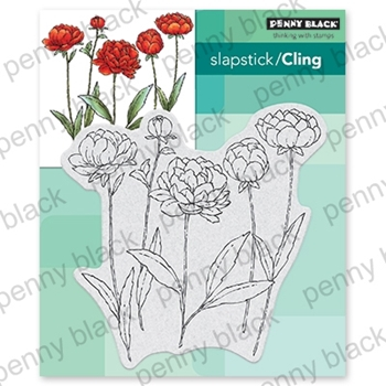 Penny Black Cling Stamp UNFOLDING 40-670