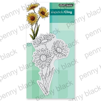 Penny Black Cling Stamp DAISIES 40-665