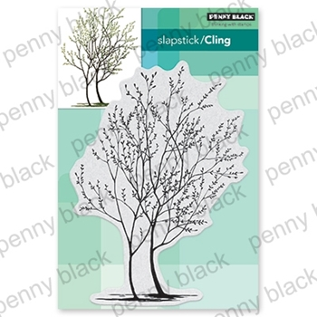 Penny Black Cling Stamp TREES IN BUD 40-663