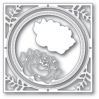 Memory Box SPLENDID ROSE FRAME Craft Dies 94229