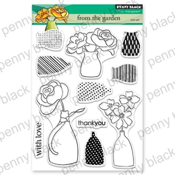 Penny Black Clear Stamps FROM THE GARDEN 30-560