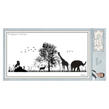 Creative Expressions ON SAFARI Cling Stamp Sentimentally Yours syr040